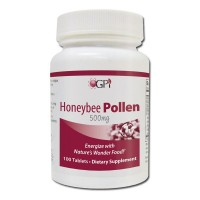 Honeybee Pollen 500mg, 100 tablets