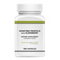 Honeybee Propolis with Elderberry, 180 capsules
