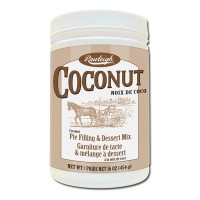W.T. Rawleigh Dessert & Pie Fillings, 16 oz container - Coconut